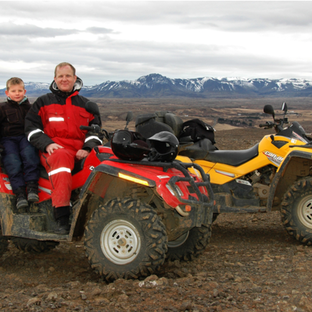 Reykjavik - Mountain safari ATV Tour (quad)